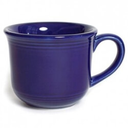 Cobalt China Cups and Saucers