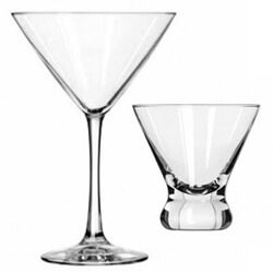 Cocktail and Martini Glasses