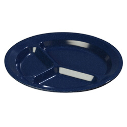 Dallas Ware Melamine Plates - Blue