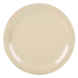 Dallas Ware Melamine Plates - Tan