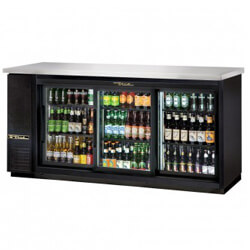 Refrigerated Back Bar Coolers