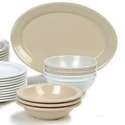 Tan Dallas Ware Melamine