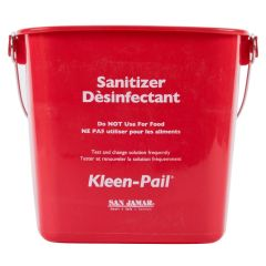 Kleen Pail 6 Qt. Red