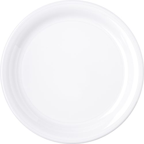 White Dinner Plate 9 Inch Melamine Durus Ware, Case of 24