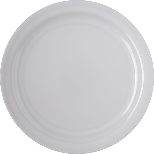 Dinner Plate 10-1/4 Inch Melamine Dallas Ware White