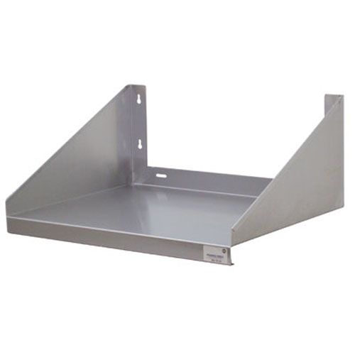 Stainless Steel Wall Mounted Microwave Shelf, 24 Inches Wide x 2 Feet Long