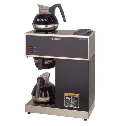 Commercial Coffee Maker, Coffee Brewer, 2 Warmer, Pourover Coffee Maker