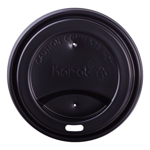 LID SIPPER DOME BLACK