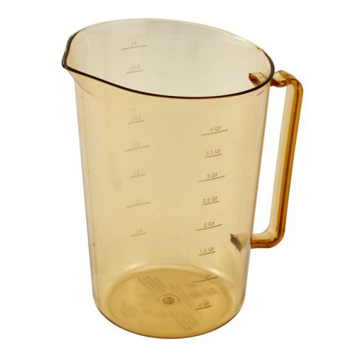 Cambro 400MCH150 4 qt. (128 oz.) High Heat Measuring Cup