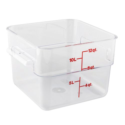 CamSquare 12 Quart Clear Camwear Food Storage Container