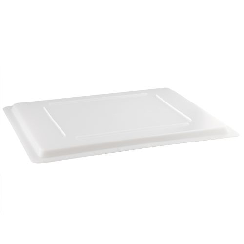 Full Size White Food Box Cover