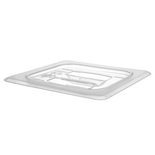 Camwear Sixth Size Notched Cover with Handle Food Pan Lid