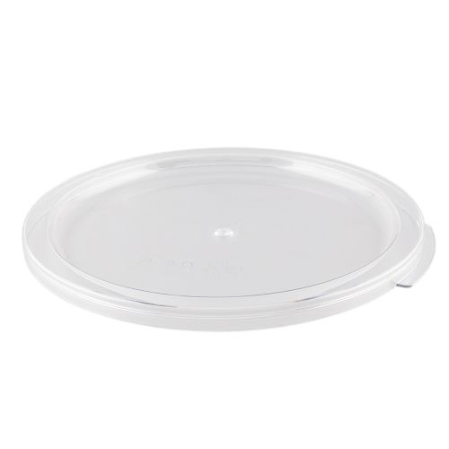Round Food Storage Container Cover for 6, 8 Qt. Container