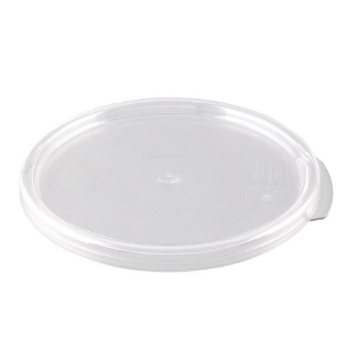 Round Food Storage Container Cover for 2, 4 Qt. Container
