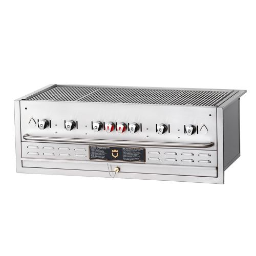 Built-In Outdoor Gas Grill - 6 Burners (Nautral Gas)