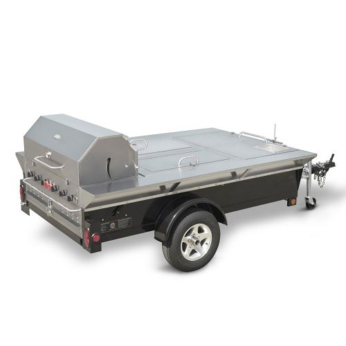 Tailgate Towable Grill w/ Insulated Storage & Sink