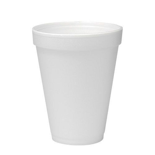 Foam Cup 12 oz White, Case of 1000