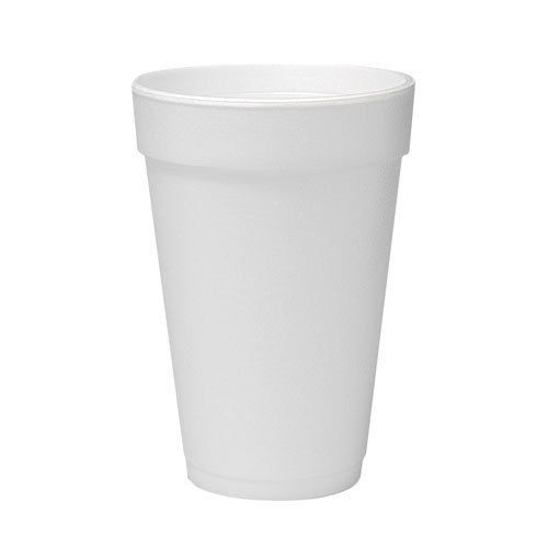 Foam Cup 16 oz White, Case of 1000
