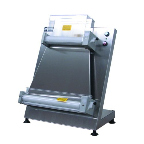 """Double Pass 18"""" Countertop Dough Sheeter with Parallel Rollers"""