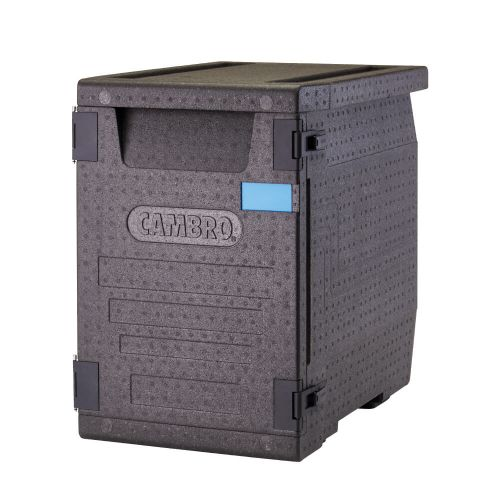 """Cambro EPP400110 GoBox® Front Loader Insulated Food Pan Carrier - 25 3/16"""" x 17 1/4"""" x 24 9/16"""""""