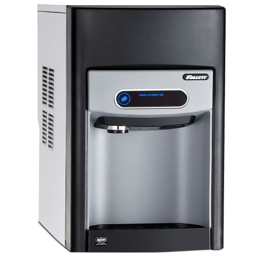 15 Series Countertop Ice Dispenser with 125 Lb Chewblet Ice Machine and 15 Lbs Ice Storage - No Filter