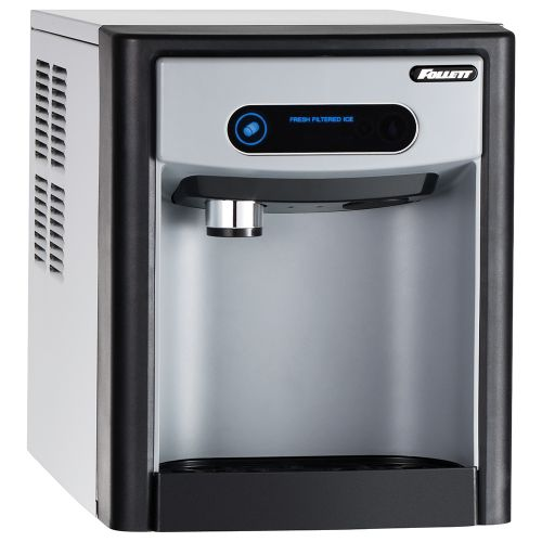 7 Series Countertop Ice Dispenser with 125 Lb Chewblet Ice Machine and 7 Lbs Ice Storage - No Filter