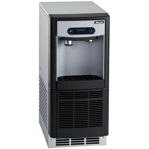 7 Series Undercounter Ice and Water Dispenser with 125 Lb Chewblet Ice Machine and 7 Lbs Ice Storage - No Filter
