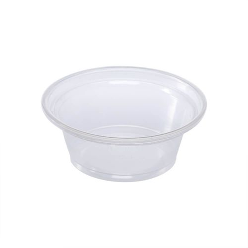 SOUFFLE CUP CLEAR 1 OZ