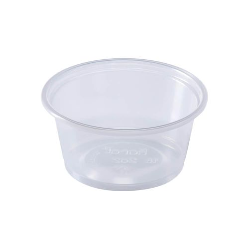 SOUFFLE CUP CLEAR 2OZ