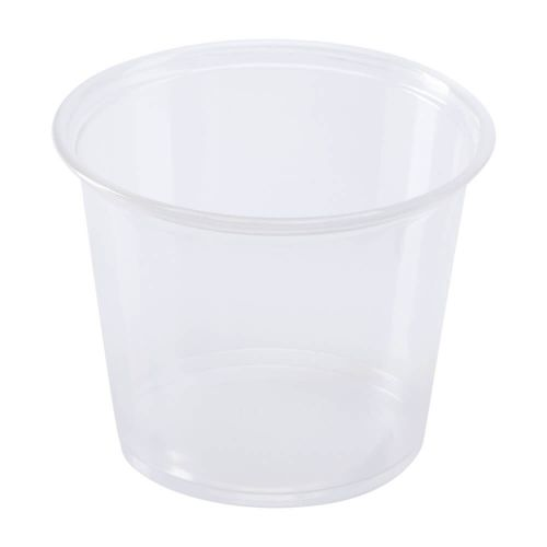 SOUFFLE CUP CLEAR 4 OZ