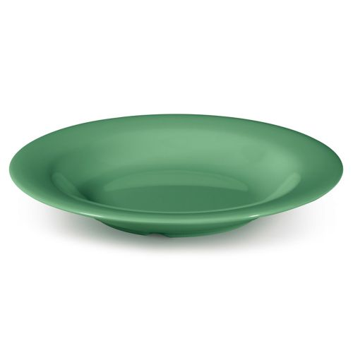 Diamond Mardi Gras 13 Oz Rainforest Green Bowl - 24/Case