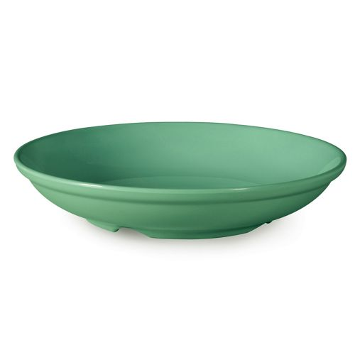 Diamond Mardi Gras 1.1 Qt Rainforest Green Bowl - 12/Case