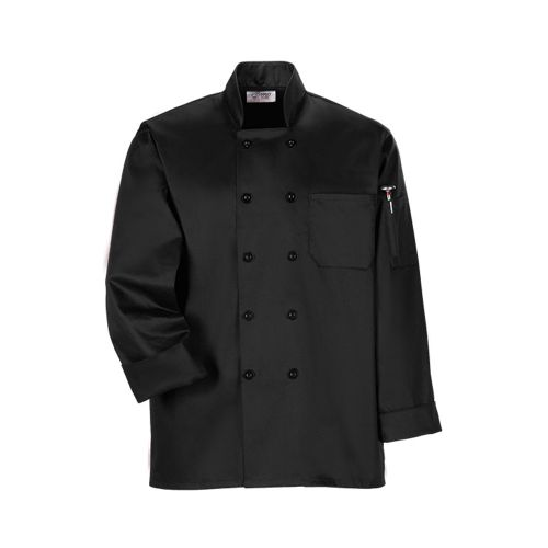Black Economy Chef Coat