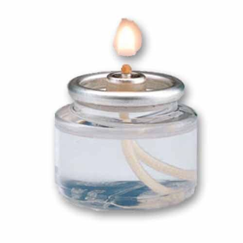 Liquid Tealight, Disposable Fuel Cell, 8 Hour, Case of 180 Ea.