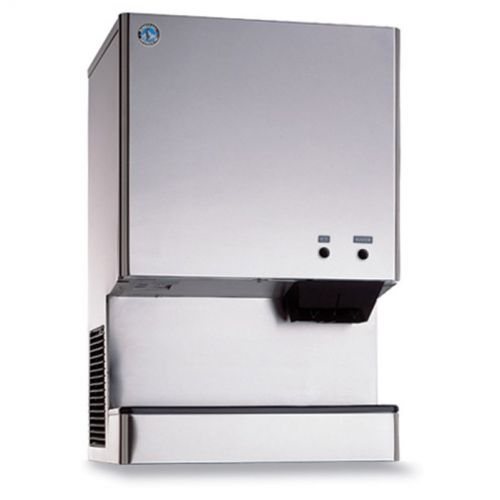 618 Lb Cubelet Ice and Water Dispenser, 40 Lb Storage, Air Cooled