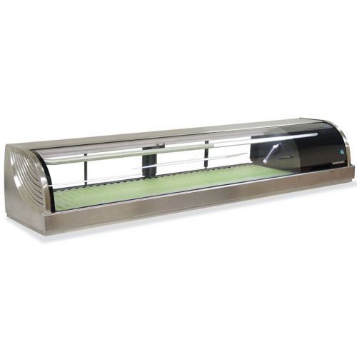 Refrigerated Right Sushi Display Case 82 Inches