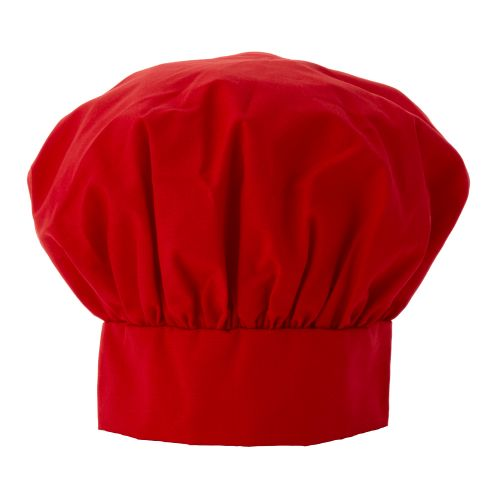 Deluxe Chef Hat, Red