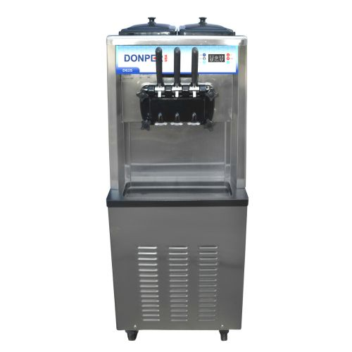 Floor Standing Soft Serve Machine - Two Flavors with Twist