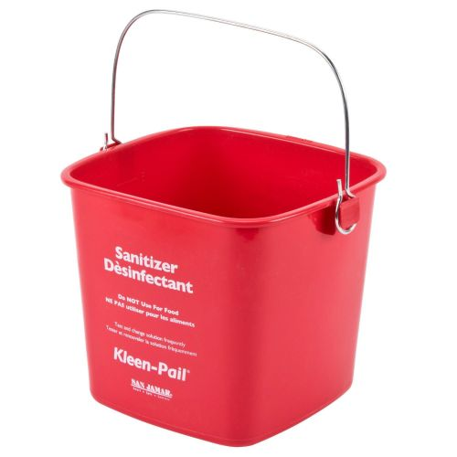 Kleen Pail 3 Qt Red