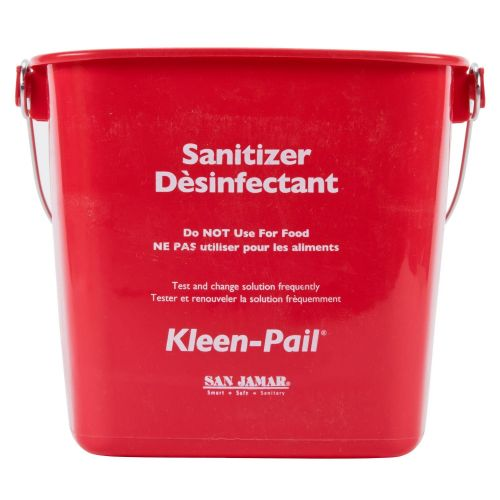 Kleen Pail 8 Qt. Red