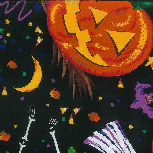 Halloween Tablecloth 120 Inch Round