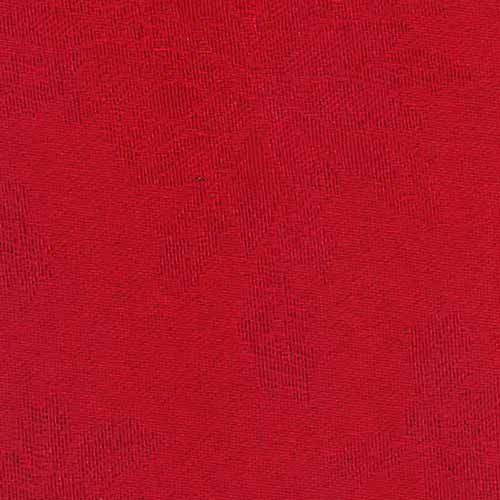 Season's Greetings Red Tablecloth 108 Inch Round