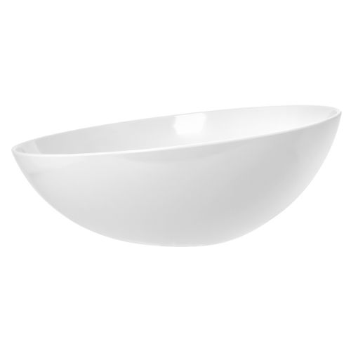 Tablecraft M4094WH 5 Qt Sierra Melamine Collection™ X-Large Bowl, White