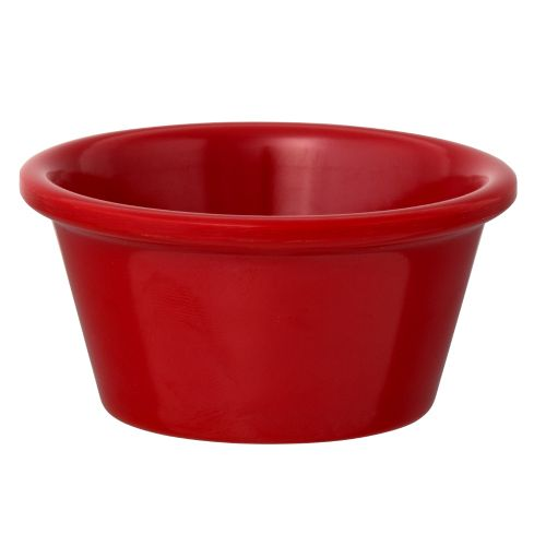 Red Ramekin - 2-1/2 Oz