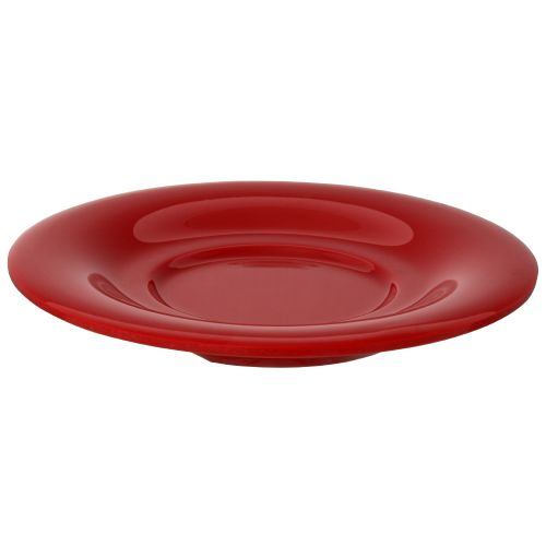 5 1/2 Inch Melamine Saucer for CR303, CR9018 mugs - Color Pure Red