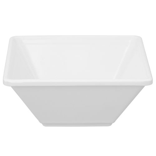 11 Oz Melamine Square Bowl - Passion White