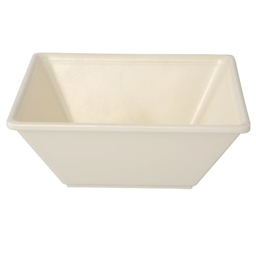 23 Oz Melamine Square Serving Bowl - Passion Pearl