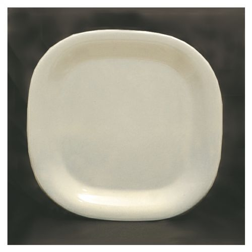 11 Inch Melamine Rounded Square Plate - Passion Pearl