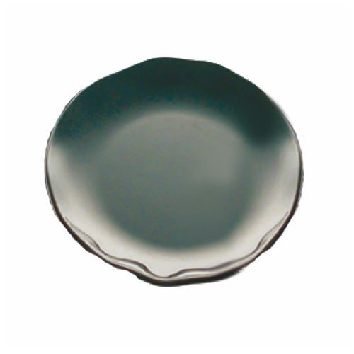 "10 1/2"" Melamine Dinner Plate - Black Pearl Two Tone"