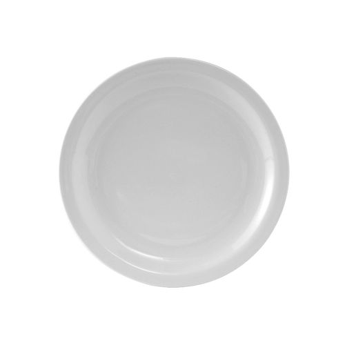 Colorado Narrow Rim Plate 6-1/2 Inch White, 3 Dz. Case